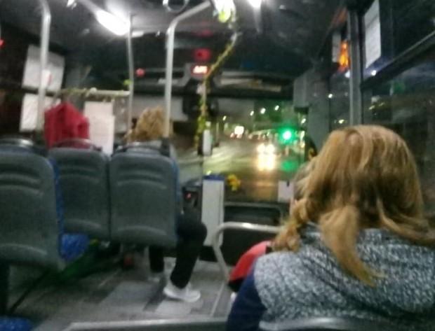 Читателка на Plovdiv24.bg алармира, че вчера сутринта в автобус 18