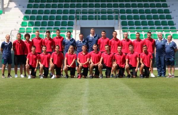 Селекционерът на юношеския национален отбор по футбол на България до