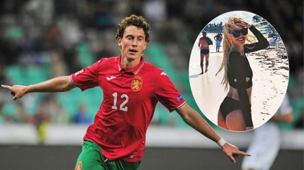 Футболният национал на България Божидар Краев лудна по синоптичката Натали