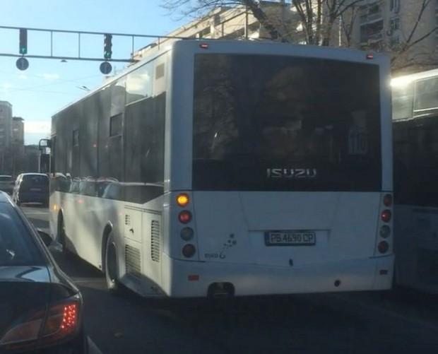 Читател на Plovdiv24.bg засне нагъл шофьор на градския транспорт. Нека