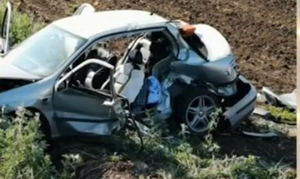 Снимка: Автомобил падна в дере във Варненско, има загинала жена!