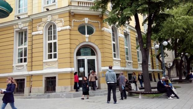 <div В салона за клиенти на ТД на НАП Бургас