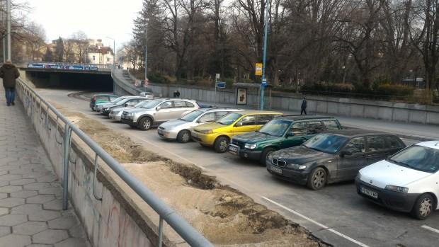 Шофьорите в Пловдив намериха начин и място в идеалния център