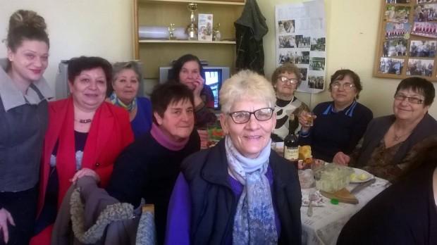 Снимка: Общински съветници поздравиха пенсионерските клубове по случай Бабинден