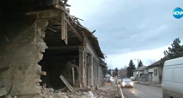 ТИРсе вряза в къща в търновското село Самоводене. Инцидентът е