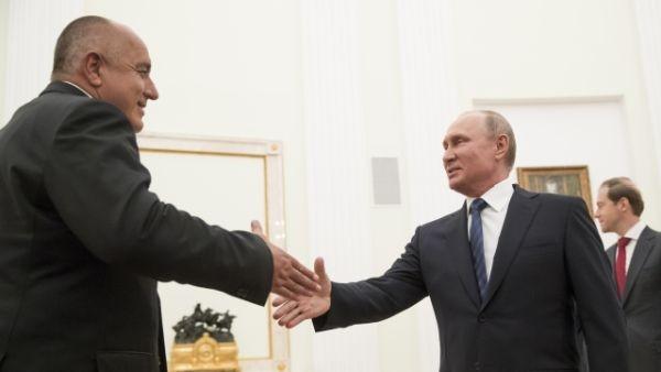 Министър-председателят Бойко Борисов проведе телефонен разговор с руския президент Владимир