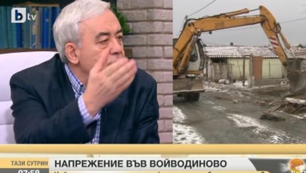 Във Войводиново се било извършвало етническо прочистване,твърдипредседателят на Българския хелзинкски