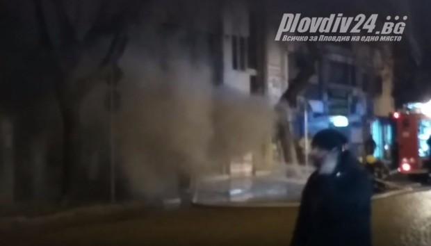 виж галерията Сигнал за възникнал пожар в търговски обект на партерен
