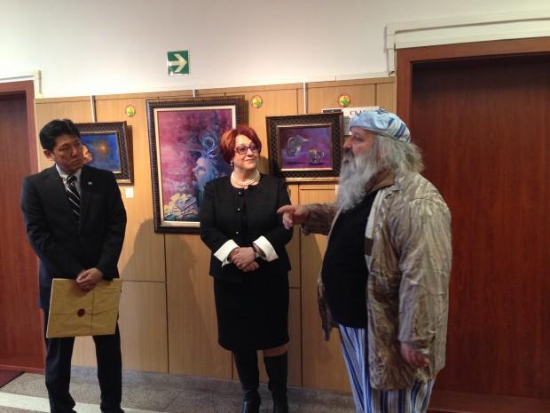 Апелативен съд – Варна посрещна днес господин Ясуюки Ебата –