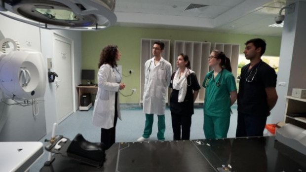 Д-р Екатерина Бомерт – специализант и докторант във Варна, участва