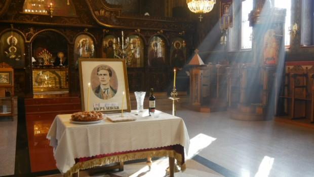 Снимка: Панихида за Васил Левски в църквата