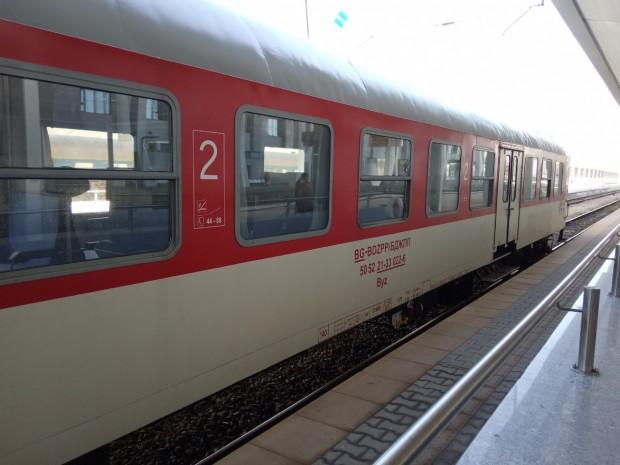 Снимка: БДЖ обновява съставите на влаковете с ремонтирани вагони