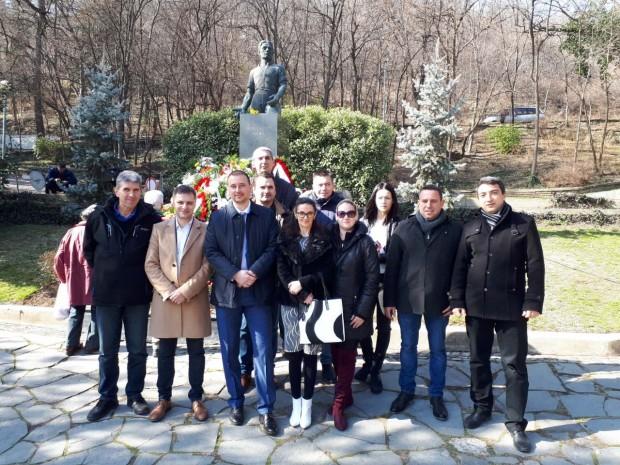 Студентите от пловдивската организация на ВМРО почетоха 146-годишнината от смъртта