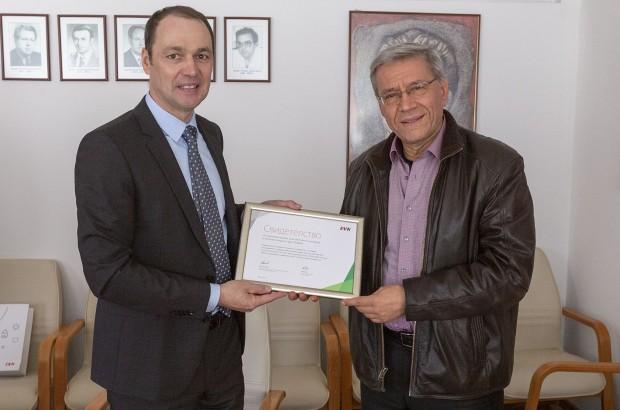 Снимка: Отличиха МУ Пловдив за ползване на екологично чиста топлинна енергия