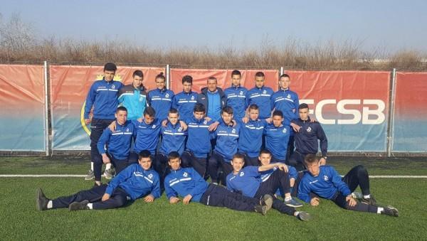 Два отбора от детско-юношеската школа на Дунав пътуваха за Румъния,