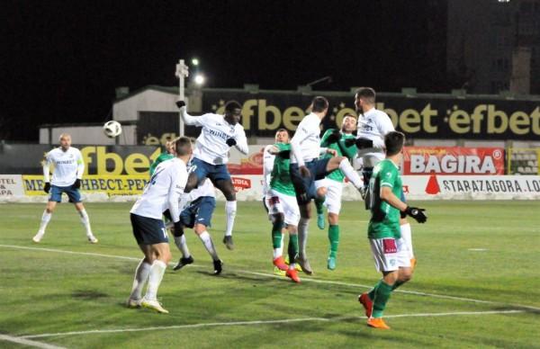 Дунав загуби от Берое с 0:1 в мач от 23-ия