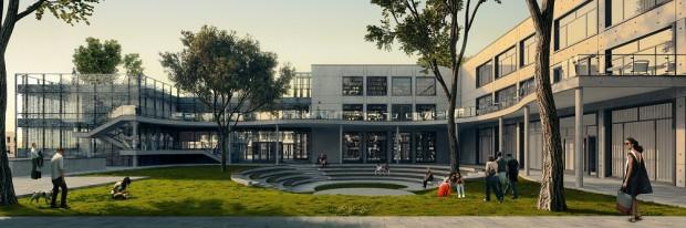 Покрив от зелена растителност ще краси сградата на Новата библиотека