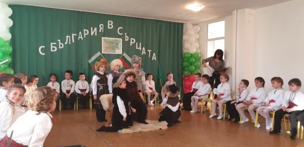 Снимка: Патриотично тържество по повод 3 март в детска градина