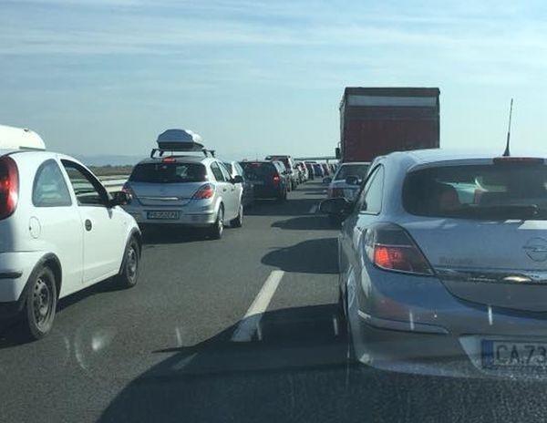 Снимка: Очаква се засилен трафик по пътищата в страната заради почивните дни
