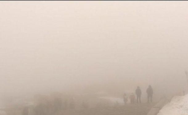 Снимка: Много гъста мъгла създава затруднения на Шипка