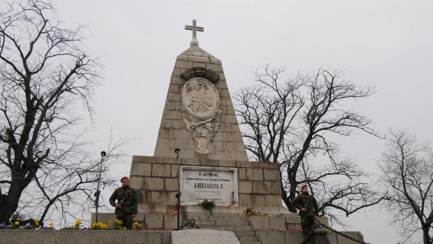 Снимка: Първият паметник за Освобождението на България е построен в Пловдив