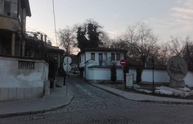 Снимка: Входът на Стария град откъм Източната порта затвори за коли