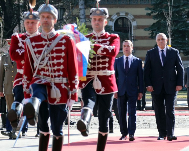 Министър-председателят Бойко Борисов посрещна председателя на правителството на Руската федерация