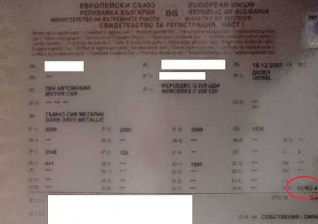 Снимка: Много важна информация дали си струва смяна на талона заради еврокатегорията!