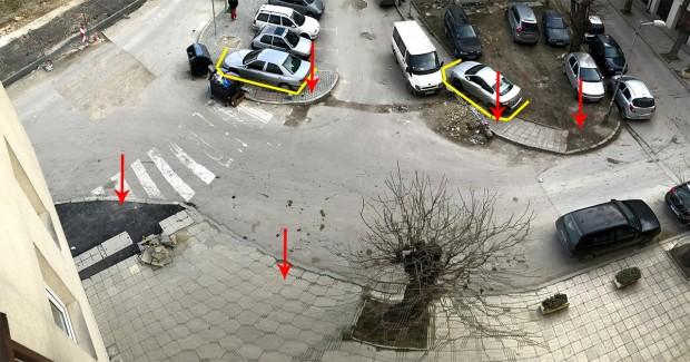 Varna24.bg, читател споделя за проблем с нагло паркиране на ул.