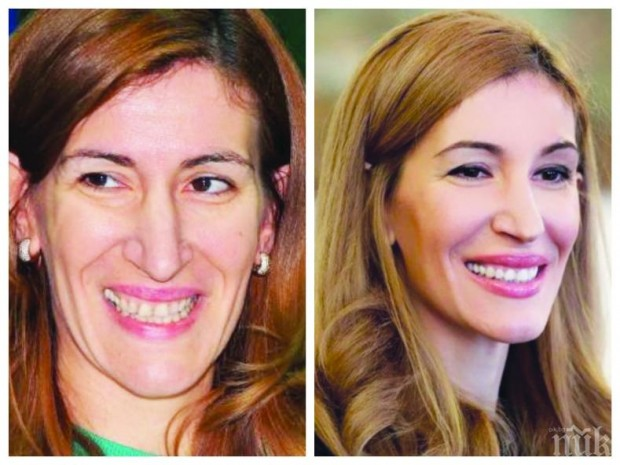 Снимка: Ангелкова засия с нови зъби
