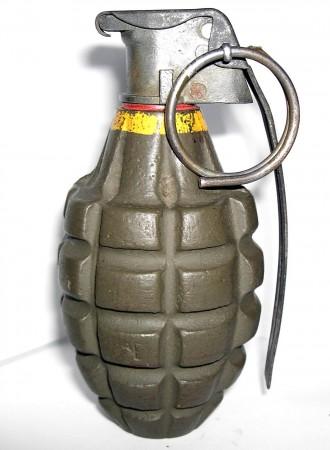 >Военнослужещите извършиха оглед, при който установиха, че това е граната