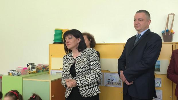 Дамата, която посети най-старото детско заведение във Варна след ремонта