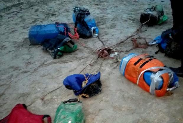 Снимка: Подробности за намереното в морето огромно количество кокаин! Проверяват кораби и лодки