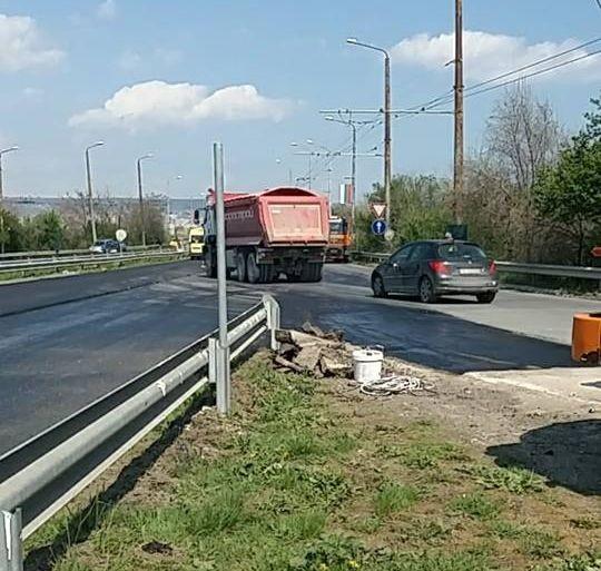 Снимка: Отвориха подстъпа към Аспарухов мост в посока Варна