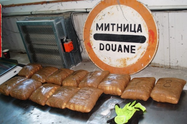 Снимка: Над 13 кг метаамфетамин задържаха в района на Дунав мост 2
