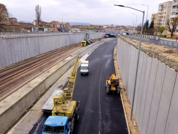 Снимка: Проектантът на новия булевард: