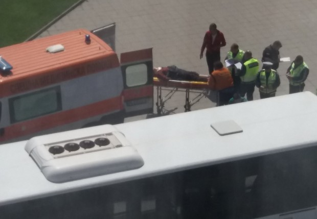 Ексклузивни кадри от тежкия инцидент в Пловдив!