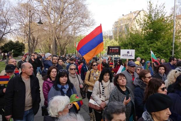 104 години от арменския геноцид бяха отбелязани във Варна вчера.