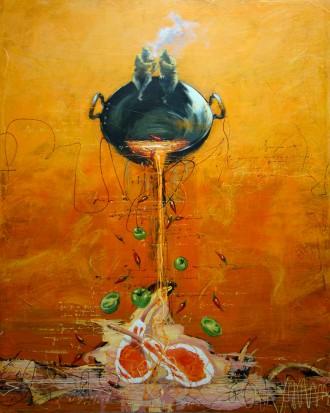 >Експресивният живописен стил на Мутафчиев ще ни потопи в насладата