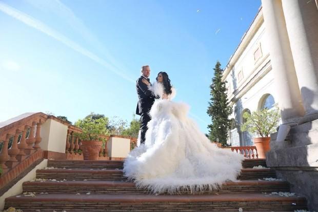 Със сватба за милиони Цеци Красимирова се превърна в госпожа