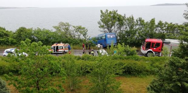 Varna24.bg За изключително тежка катастрофа сигнализира читател на Plovdiv24.bg: