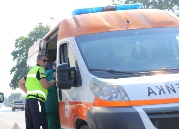 катастрофата по пътя за Галата, за която Varna24.bg съобщи, е