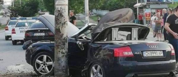 Припомняме, че вчера 19-годишно момиче загина след като автомобилът, управляван