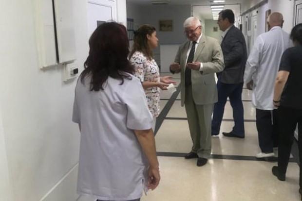 Обиколката на министъра на здравеопазването в областните болници продължава. Днес