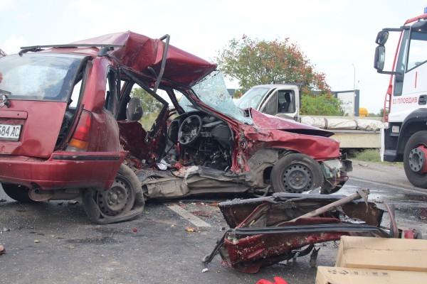 ИлюстрацияВследствие на инцидента са пострадали петима души. Водачката на втория