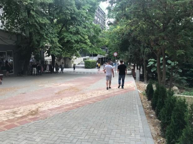 """Varna24.bg Спокойствие цари по реконструираната ул.""""Цар Симеон I"""