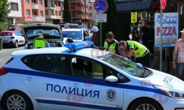 Снимка: Пиян испанец открадна такси, спретна ли рали из Слънчев бряг и Несебър и катастрофира