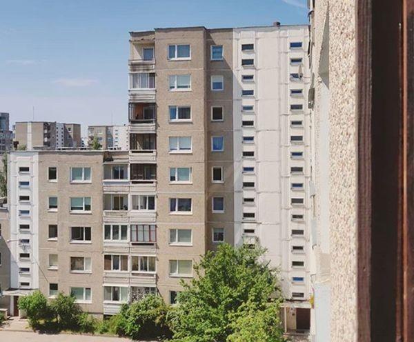 Туитър Двойка от Вилнюс е собственик на апартамент, който е