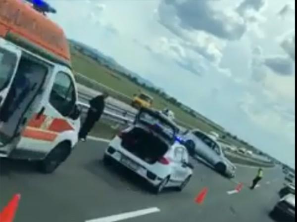 Полицията даде подробности за вчерашната катастрофа на АМ