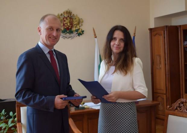 Снимка: Съдия Ирена Петкова встъпи в длъжност като заместник-председател на Окръжен съд – Варна
